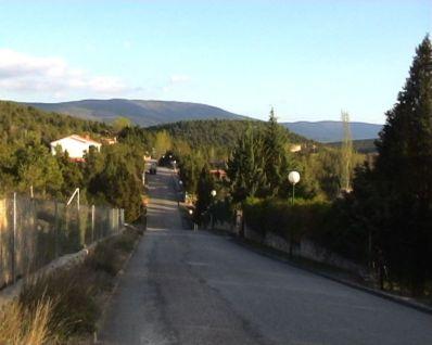 El Monte de Los Cortos - Calles