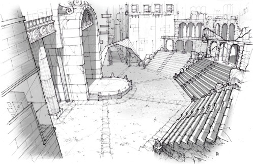 Amphitheater sketch