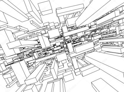 Architectonic sketch