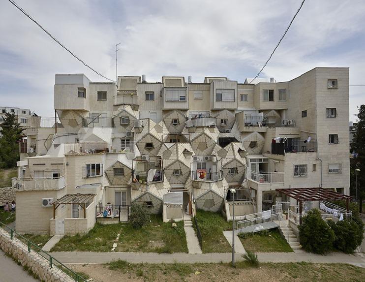 Bee hive building - Zvi Hecker