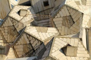 Bee hive building - Zvi Hecker