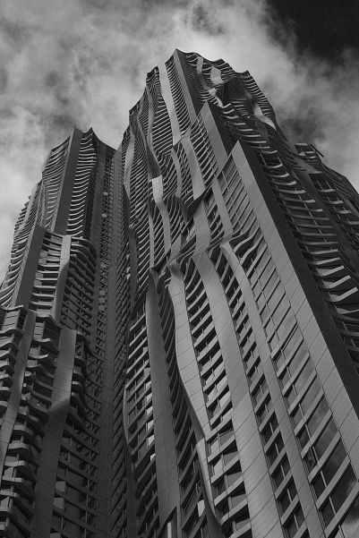 Beekman tower NYC - Frank O. Gehry
