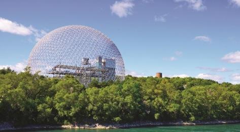 Biosphère de Montreal - Buckminster Fuller
