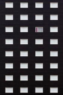 Black facade & white windows facade - 01