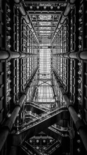 B&W Lloyd's Building. London, England by Richard Rogers Architects-01