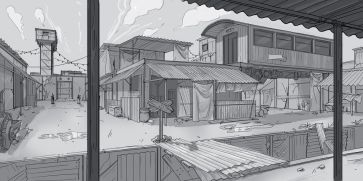 Comic sketch