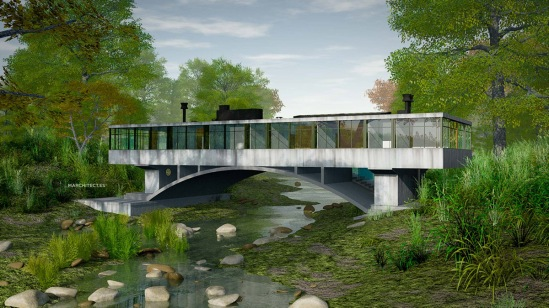 Casa puente - Amancio Williams