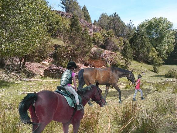 Caslilla praires - Horses & girls