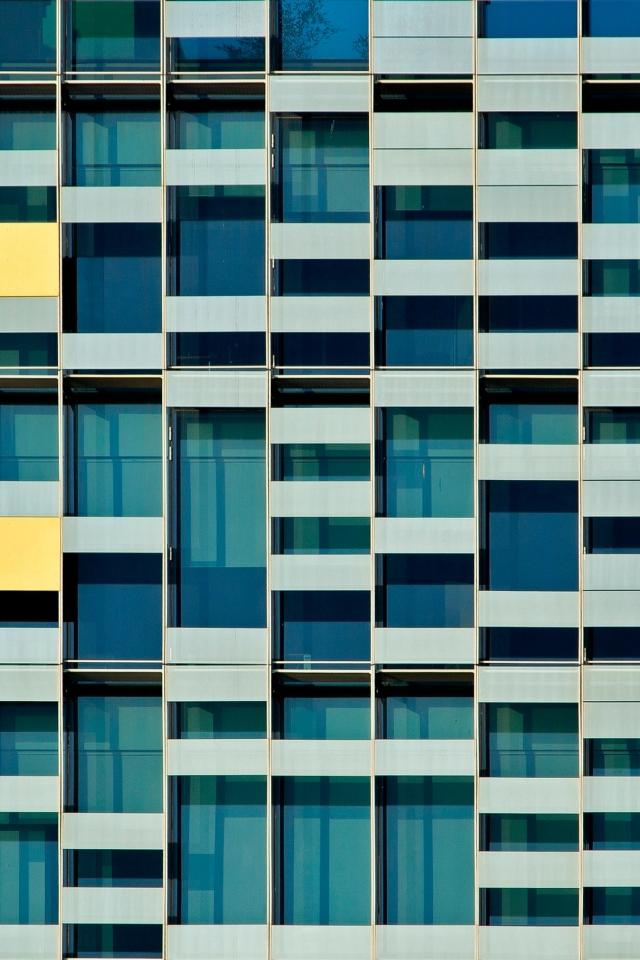 Colorful windows facade - 02