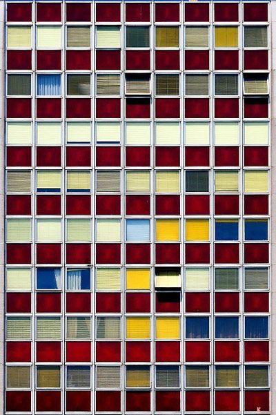 Colorful windows facade - 04