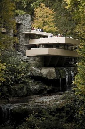Fallingwater house - F.Lloyd Wright