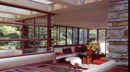Fallingwater house - F.Lloyd Wright