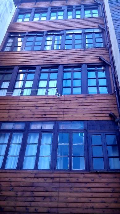 El Monte de Los Cortos - Revestimientos madera en fachadas