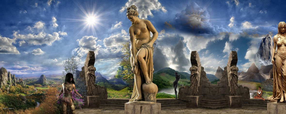 Venus, Feronia and other goddesses at their Nature's Eden