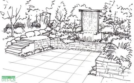 Gardens sketch