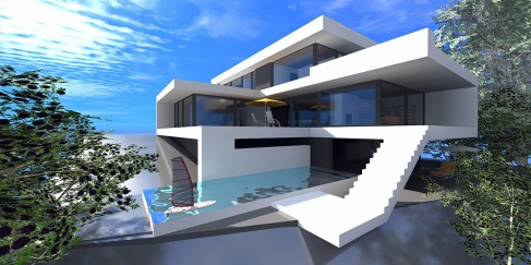 Hyper modern building