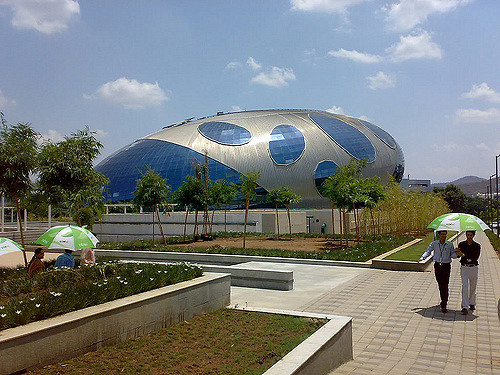 Infosys building - India