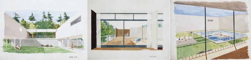 Casa hermano Amancio Williams - Sketch