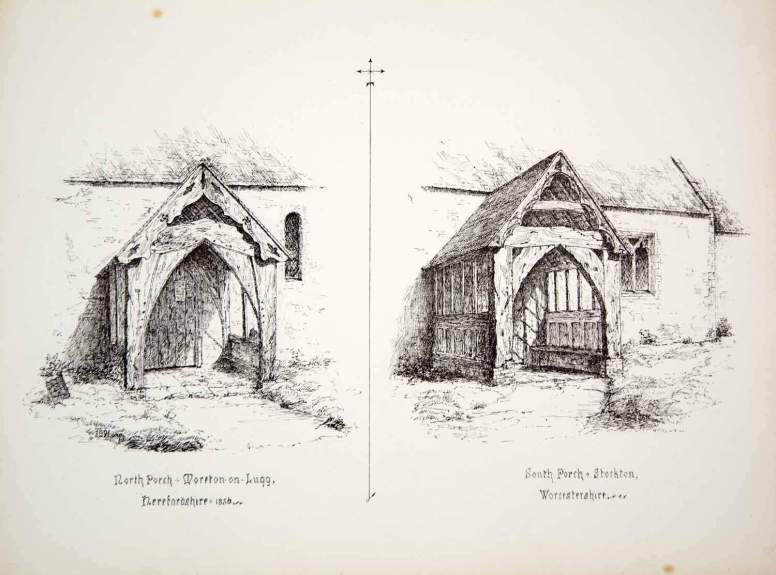 JS Walter church sketch