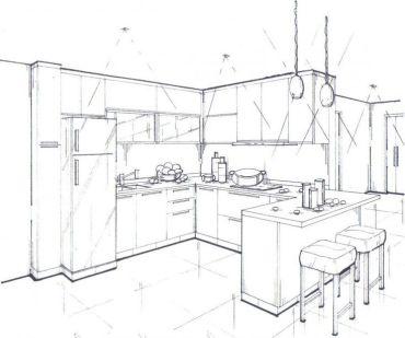 Kitchen-sketch-01