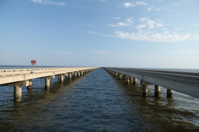 Lake Pontchartrain FE perspective