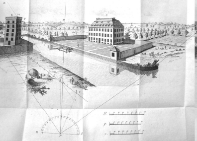 Lambert Echelle sketch