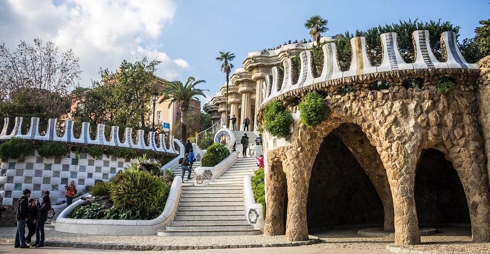 Parc Guell - Antoni Gaudí