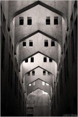 Perspectiva con arcos en ojiva