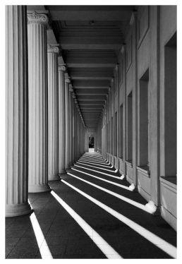 Perspectiva de arcos cuadrados