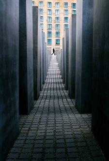 Perspectiva monumento al holocausto, Berlín-01