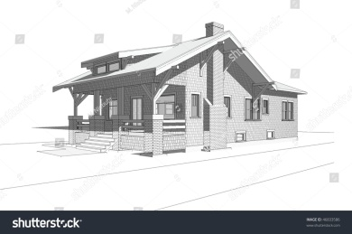 Rustic-house-sketch-10