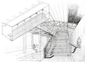 Interiors sketch