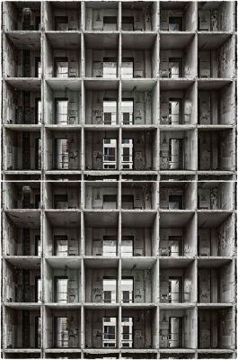 Trama de viviendas en ruinas - 01