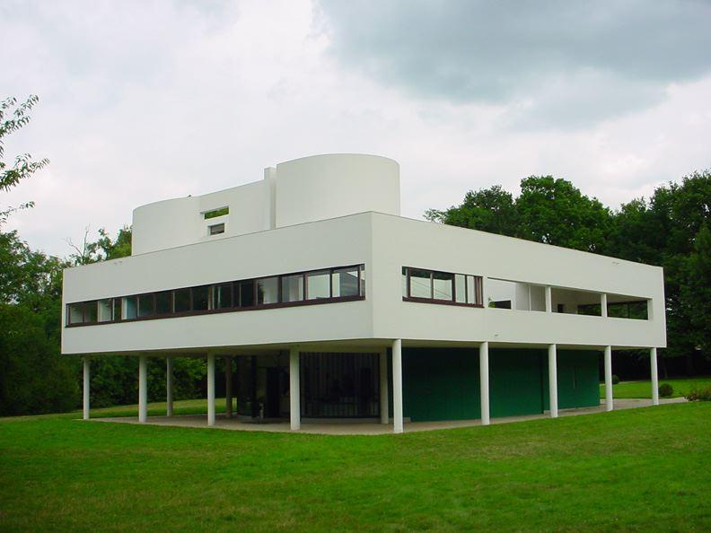 Villa-Savoye-(Le-Corbusier)-18
