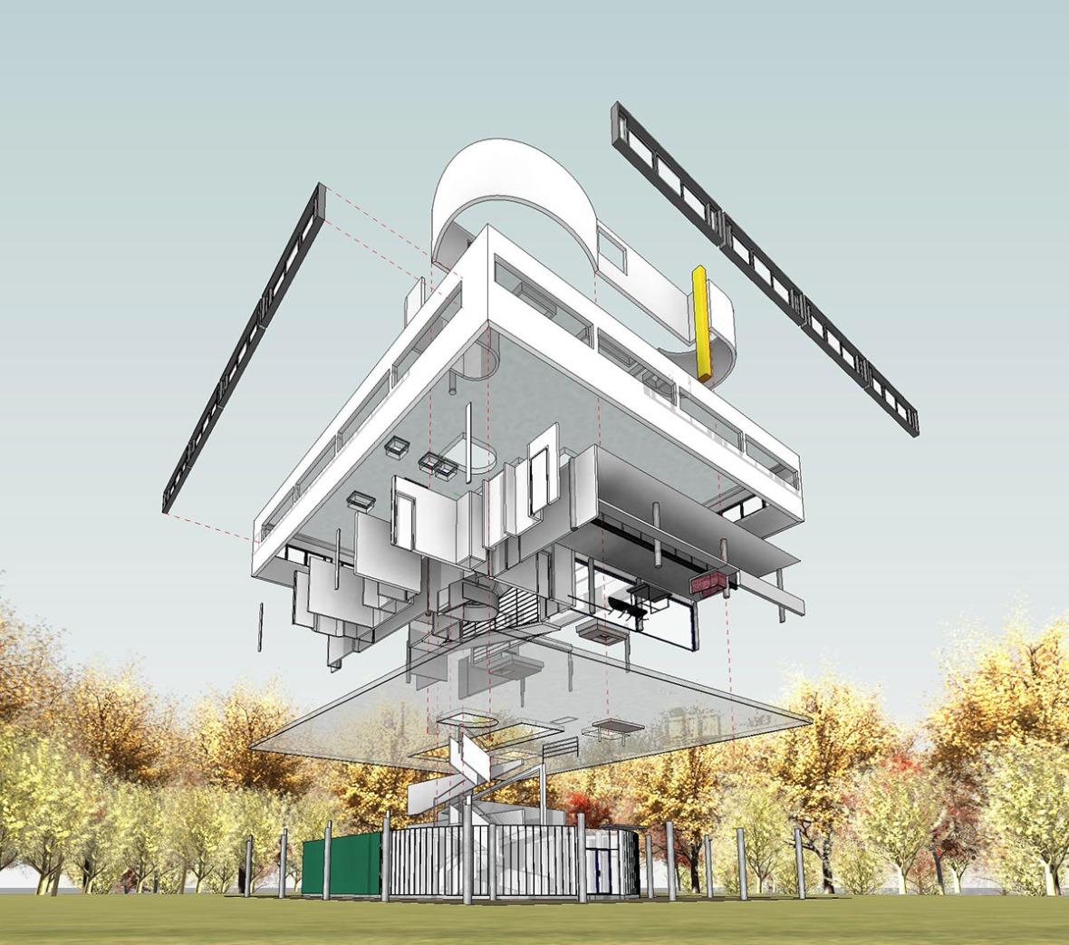 Villa-Savoye-Plans-(Le-Corbusier)-05