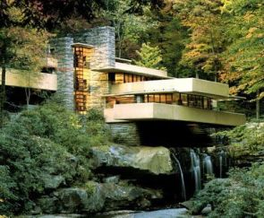 Frank Lloyd Wright's Waterfall house