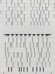 White facade with strips (Michael Wolf)