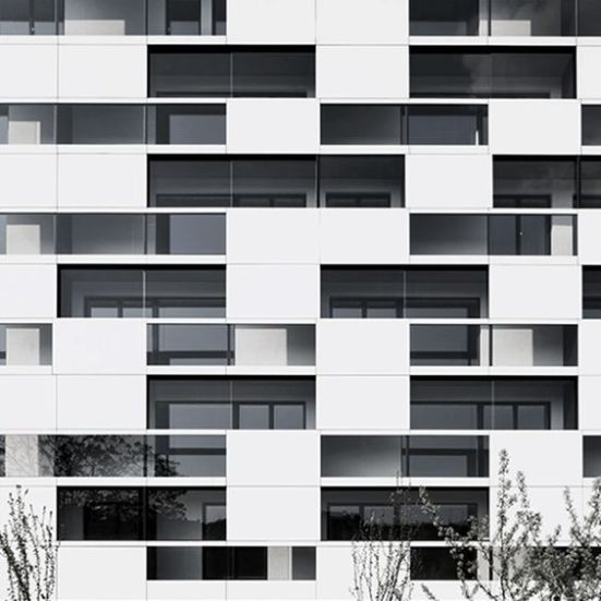 White & rectangular horizontal windows - 01