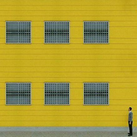 Industrial facade